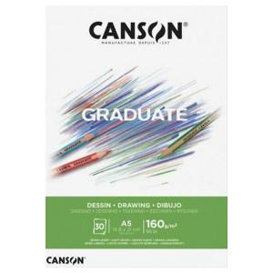 Canson Graduate Çizim Defteri 160gr A5 30 Yaprak