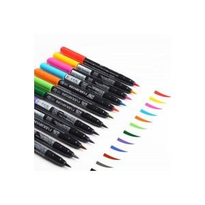 Fudebiyori Brush Pen Fırça Uçlu Kalem Seti 36 Renk
