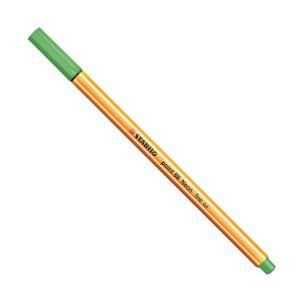 Stabilo Point 88 İnce Uç Keçeli Kalem 0.4 mm Florasan Yeşil 88/033