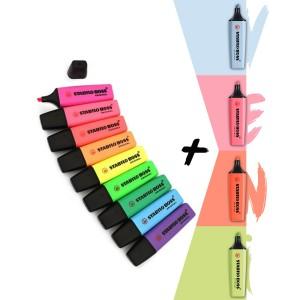Stabilo Boss 4 Yeni 9 Canlı Renk