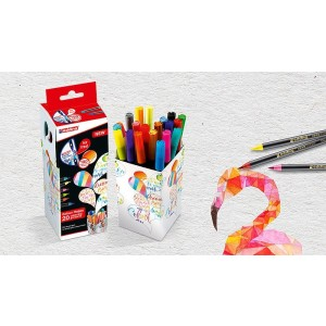 Edding Brush Pen Colour Happy Set 20 Renk - Renklendirme Kalemleri