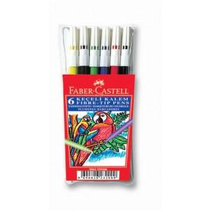 Faber Keçeli Kalem 6 Lı Poşet