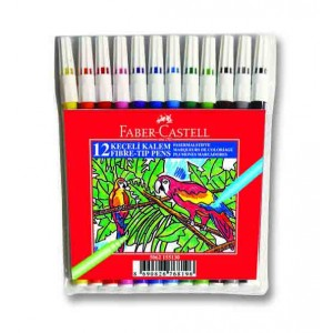 Faber Keçeli Kalem 12 Li Poşet