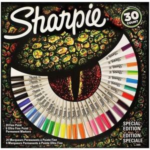 Sharpie Fine Permanent Markör 30 lu Karışık Kutu Kertenkele