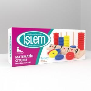 Redka İşlem Matematik Oyunu Zeka, Mantık ve Strateji Oyunu (Default)