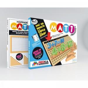 Redka Mat 1 Montesori Eğitim Seti Zeka, Mantık ve Strateji Oyunu (Default)