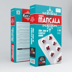 Redka Kapaklı Plastik Mancala Zeka , Mantık ve Strateji Oyunu (Default)