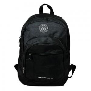 Benetton Siyah Günlük Okul Sırt Çantası 96011