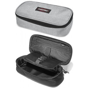 EASTPAK OVAL XL SINGLE SUNDAY GREY KALEM ÇANTASI