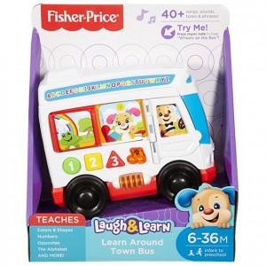 Fisher Price Lnl Köpekçiğin Eğitici Otobüsü (Türkçe)