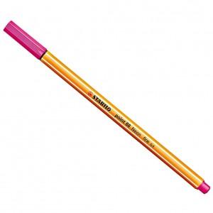 Stabilo Point 88 İnce Uç Keçeli Kalem 0.4 mm Florasan Pembe 88/056