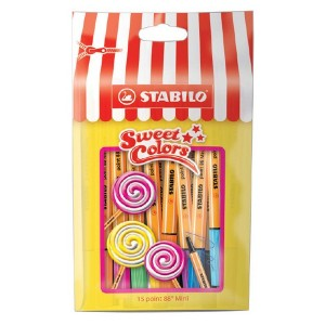 Stabilo Pen 88 Mini Sweet Colors 15'li Paket