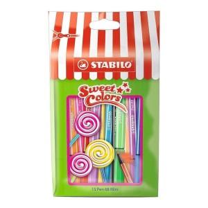 Stabilo Pen 68 Mini Sweet Colors 15'li Paket