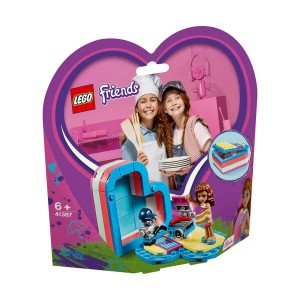 LEGO FRİENDS OLİVİA'NIN YAZ KALP KUTUSU 41387