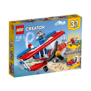 LEGO CREATOR CESUR AKROBASİ UÇAĞI 31076
