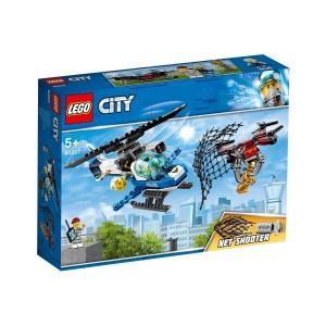 LEGO CİTY POLİCE GÖKYÜZÜ POLİSİ İNSANSIZ HAVA ARACI TAKİBİ 60207