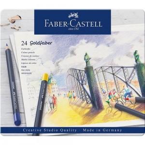 FABER-CASTELL GOLDFABER AQUA BOYA KALEMİ 24LÜ