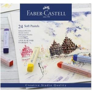 FABER CASTELL CREATİVE STUDİO TOZ PASTEL BOYA 24 RENK