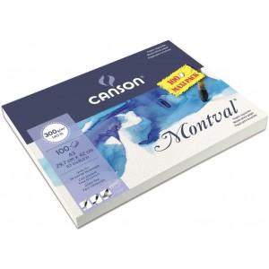 CANSON MONTVAL MAXİ PACK SULUBOYA BLOK 300 GR. 100 SAYFA 29,7X42 CM. (A3)