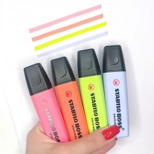 Stabilo Boss Original Pastel Renkler Yeni 4lü Set