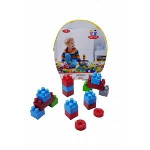 Best Toys Büyük Kovalı Blok Oyuncak - 20 Parça
