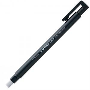 Tombow Mono Zero 2.5x5mm Düz Uç Kalem Silgi Siyah