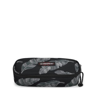 EASTPAK OVAL SİNGLE BRİZE LEAVES BLACK ÇANTA