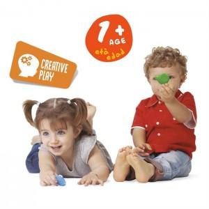 Carioca 42956 Teddy Şekilli Eli Kirl.Mum Boya 6 Lı
