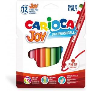 Carioca Joy Süper Yıkanabilir Keçeli Boya 12li
