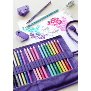 Faber Parlak Renkler Boya Kalemi Roll 20 Li Kalem Çantası Hediyeli