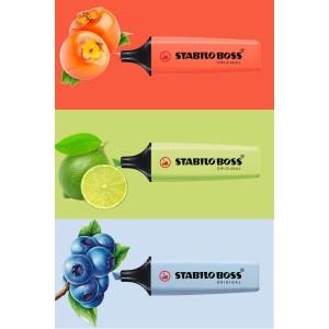 Stabilo Boss Yeni Pastel Renkler 3'lü Set (Coral-Lime-Azure)