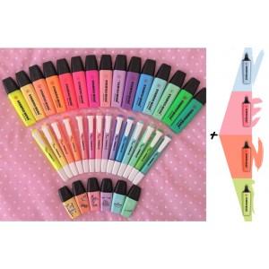 Stabilo Yeni Hepsi Fosforlu Full Set Tüm Renkler Boss-SwingCoool-Minilove 39 Kalem