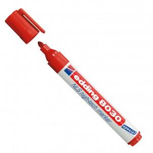Edding 8030 NLS Markör ~1,5-3 mm Yuvarlak Uçlu Kalem Kırmızı