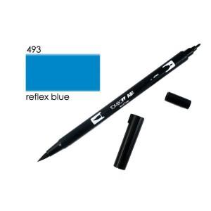 TOMBOW DUAL BRUSH PEN GRAFİK ÇİZİM KALEMİ 493 REFLEX BLUE