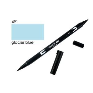 TOMBOW DUAL BRUSH PEN GRAFİK ÇİZİM KALEMİ 491 GLACİER BLUE