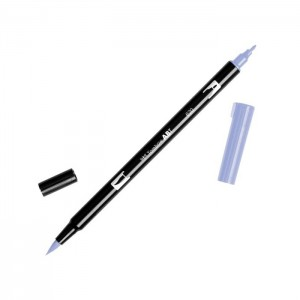 TOMBOW DUAL BRUSH PEN GRAFİK ÇİZİM KALEMİ 620 LİLAC