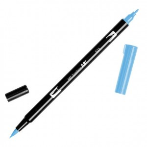 TOMBOW DUAL BRUSH PEN GRAFİK ÇİZİM KALEMİ PEACOCK BLUE - 533