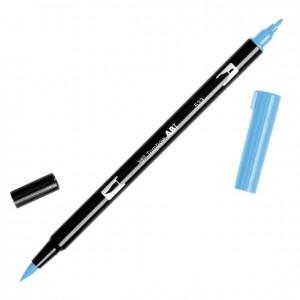 TOMBOW DUAL BRUSH PEN GRAFİK ÇİZİM KALEMİ PEACOCK BLUE - 533