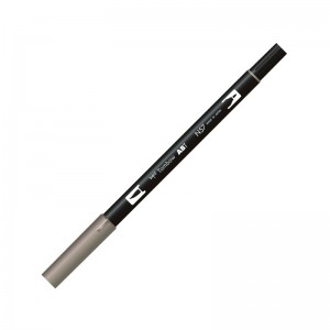 TOMBOW DUAL BRUSH PEN GRAFİK ÇİZİM KALEMİ WARM GRAY 5 N57