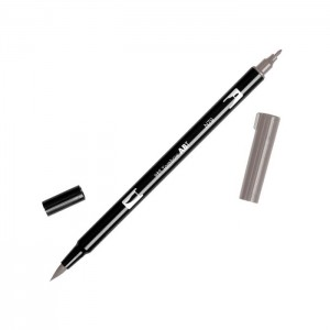 TOMBOW DUAL BRUSH PEN GRAFİK ÇİZİM KALEMİ N79 WARM GRAY 2