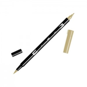 TOMBOW DUAL BRUSH PEN GRAFİK ÇİZİM KALEMİ SAND 992