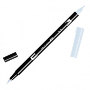 TOMBOW DUAL BRUSH PEN GRAFİK ÇİZİM KALEMİ N75 COOL GRAY 3