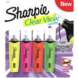 SHARPİE FOSFORLU CLEAR VİEW 4 LÜ