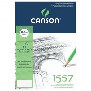 CANSON 1557 ÇİZİM BLOK A3 120 GR 40 YP C120A340US