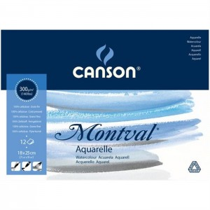 CANSON 200807317 MONTVAL SULUBOYA BLOK 18X25 300G
