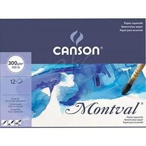 CANSON MONTVAL SULUBOYA BLOK A3 300G 200807320