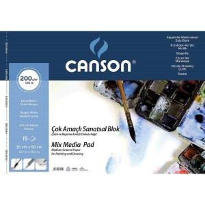 CANSON RESİM DEFTERİ 35X50 200 GR 15 YP