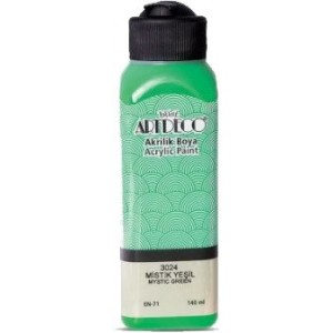 Artdeco Akrilik Boya 140ml Mistik Yeşil 3024