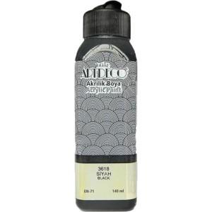 Artdeco Akrilik Boya 140ml Siyah 3618