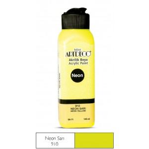 Artdeco Neon Akrilik Boya 140ml Neon Sarı 910